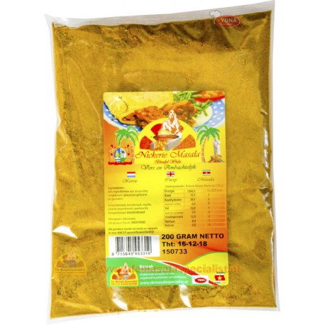 Nickerie Masala 200 gram